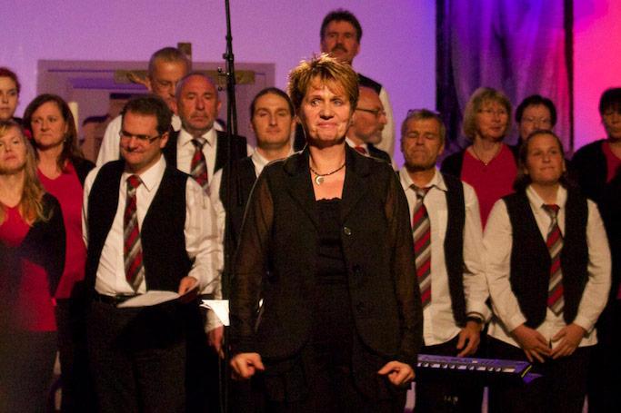 Young Voices Gemmingen Chorleiterin Andrea Luz